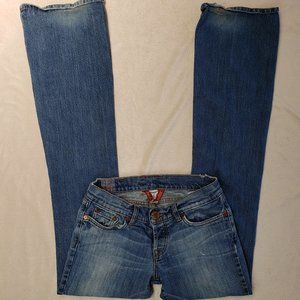 Lucky Brand Lil Harmony Distressed Bootcut Jeans